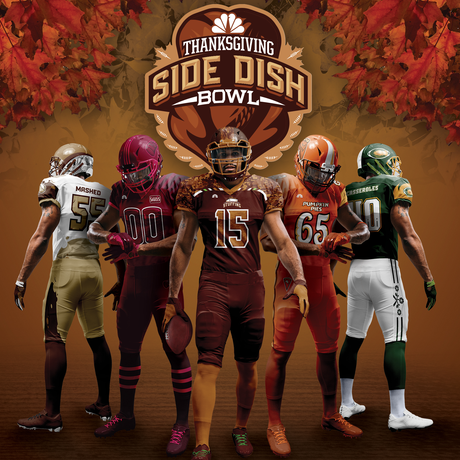 NBC Sports Thanksgiving Side Dish Bowl