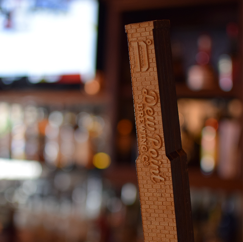Dew Point Brewing Co. Tap Handle