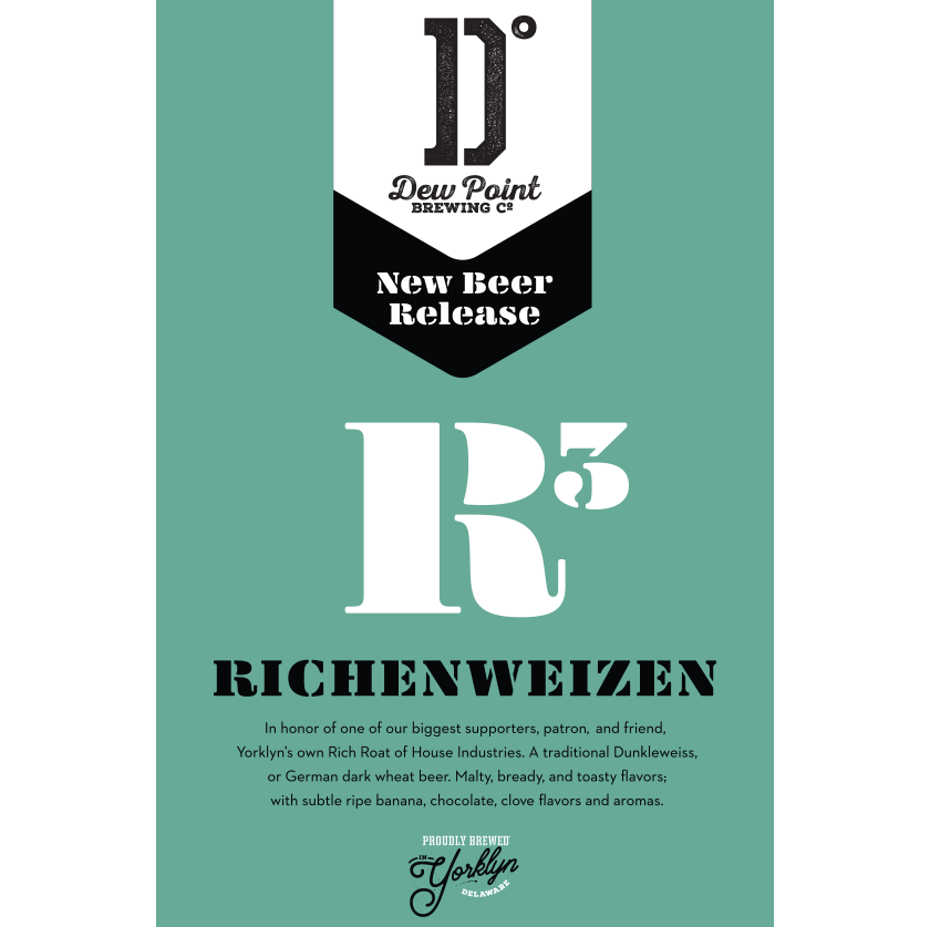 Dew Point Brewing Co. Richenweizen Poster