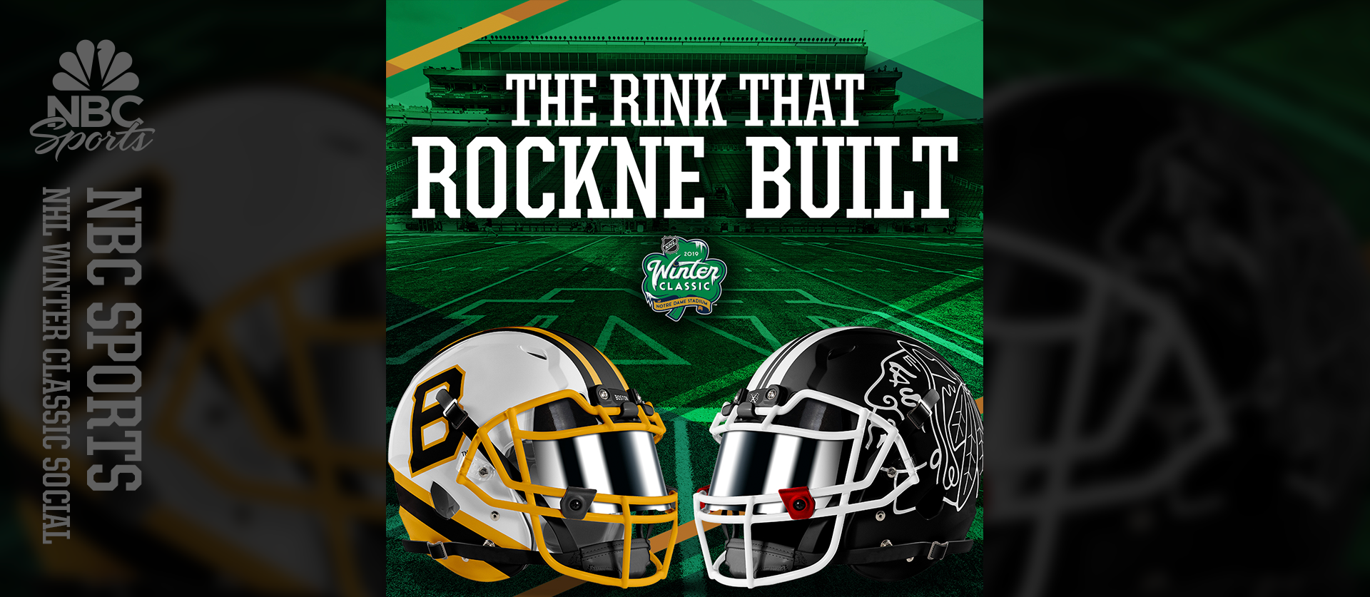 NHL Winter Classic - The Rink That Rockne Built