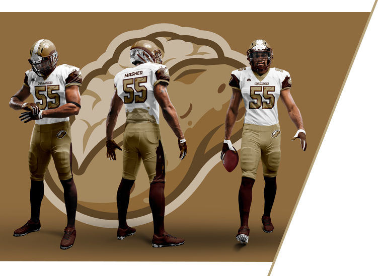 Potatoes - NFL Uniforms for NBC Sports Thanksgiving Side Dish Bowl