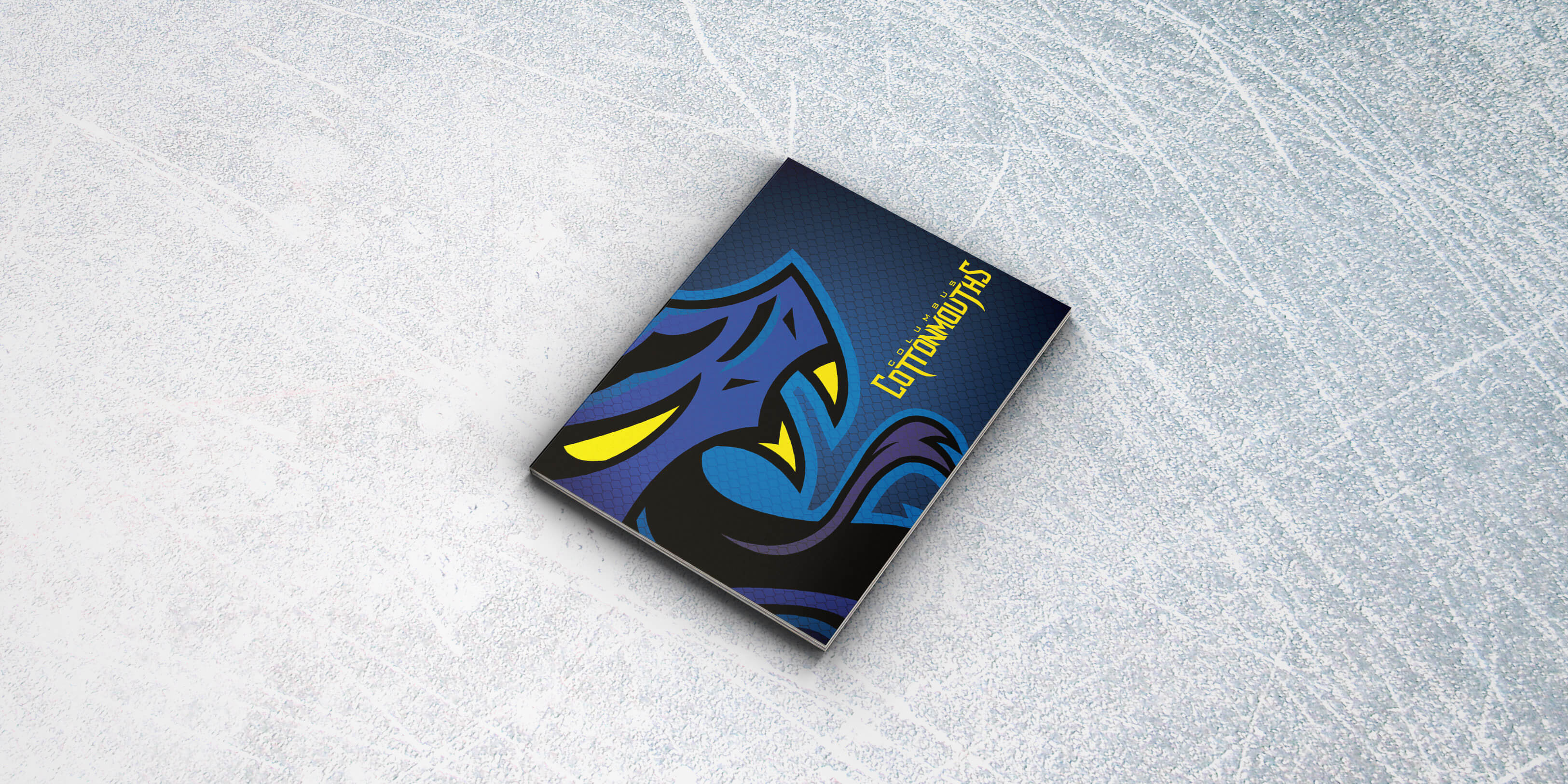 spell columbus cottonmouths sports branding guidelines